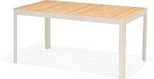 Gartentisch - Salina 160x95 cm - Hellgrau