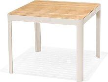 Gartentisch - Salina 95x95 cm - Hellgrau