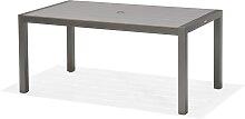 Gartentisch - Santorini 160x90 cm - Grau