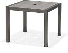 Gartentisch - Santorini 90x90 cm - Grau
