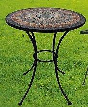 Gartentisch Sardena, Mosaik Möbel im Mediterrane