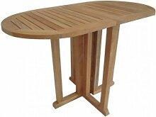 Gartentisch Teak Tisch klappbar Teaktisch oval