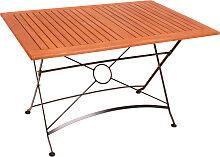 Gartentisch WIEN klappbar rechteckig Länge 120 cm