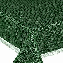 Gartentischdecke Classic KC Rund 160 cm Grün /