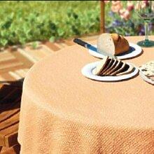 Gartentischdecke eckig / Farbe: lachs / Größe: 130x160 cm / abwaschbar