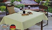 Gartentischdecke Outdoor-Tischdecke vers. Farben &