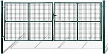 Gartentor 415x200cm/400x150cm