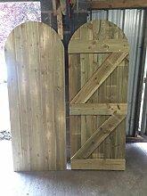 Gartentor aus Holz made in denen sie Größe massive Druck behandelt 6x 1Boards verschraubt nicht genagel