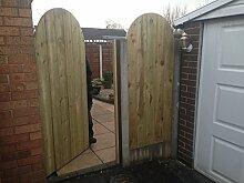 Gartentor aus Holz von Bespoke garden gates -