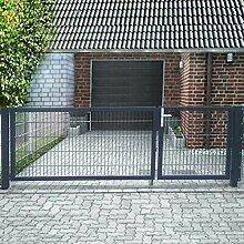 Gartentor Einfahrtstor L 500cm x H 180cm
