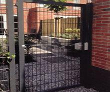 Gartentor Einzeltor Doppelstabmatten