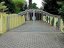 Gartentor Hoftor Tor Metall Schmiedeisen