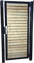 Gartentor Holztor Tor Pforte Einfahrtstor mit