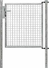 GARTENTOR VERZINKT 1FLG.1000 x 1000 mm