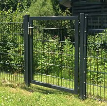 Gartentor / Zauntür Breite 100cm x Höhe 80cm