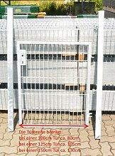 Gartentor / Zauntür Verzinkt Breite 125cm x Höhe