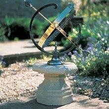 Gartentraum Deko Sonnenuhr mit Säule - Yorkshire,
