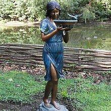 Gartentraum Edle Bronze Statue für den Garten -