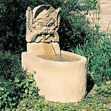 Gartentraum Garten Standbrunnen mit Pumpe - Picardie, Ocker