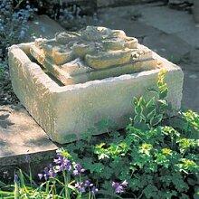 Gartentraum Garten Wasserspiel mit Pumpe - Bretagne, Ocker