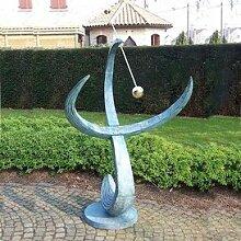 Gartentraum Große Garten Sonnenuhr kaufen - Embrace, Bronze