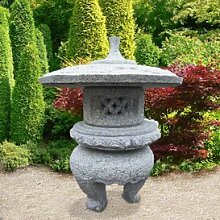 Gartentraum Japanische Steinlaterne Granit -