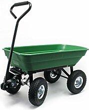 Gartenwagen mit Kippfunktion, Volumen 125l,