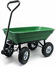 Gartenwagen mit Kippfunktion, Volumen 55l,
