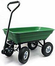 Gartenwagen mit Kippfunktion, Volumen 75l,
