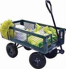 Gartenwagen mit Seitenfaltung max 400kg Papillon