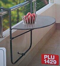 Gartenwerk klappbare Tisch Balkontisch für