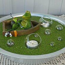 Gartenzaubereien Miniteich Set, Krokodil im Boo
