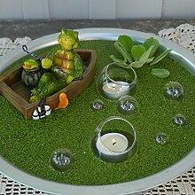 Gartenzaubereien Miniteich Set, Schildkröte im Boo