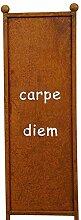 Gartenzaubereien Stele/Beetstecker Schild Carpe