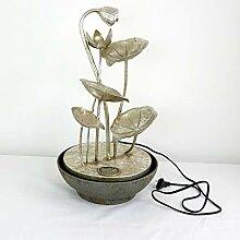 Gartenzaubereien Zimmerbrunnen Silber