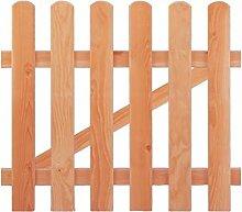 Gartenzaun Einzeltor Holz Douglasie 100 x 85 cm (Serie Ammerland)