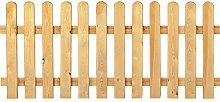 Gartenzaun Holz Kiefer / Fichte 180 x 60 cm (Serie
