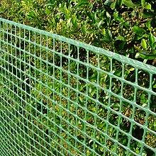 Gartenzaun Kunststoffgitter 15mm, 1 x 25m, grün