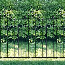 Gartenzaun Longfort, 3er-Se