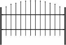Gartenzaun Mit Speerspitzen (0,75 - 1) X 1,7 M