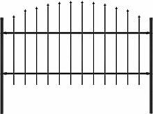 Gartenzaun Mit Speerspitzen (1 - 1,25) X 1,7 M