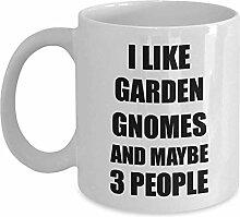 Gartenzwerge Becher lustiges Geschenk für Zwerge