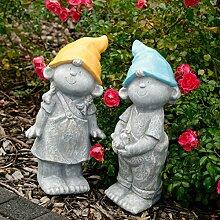 Gartenzwerge Luis & Luisa, 2er-Se