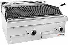Gas Lavasteingrill (14 kW) - Grillrost neigbar |