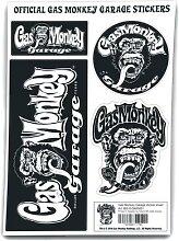 Gas Monkey Garage Sticker Aufkleber-Set -