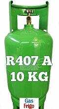 GAS r407 a 10 kg Produkt Netto leer 13 Lt im Preis enthalten