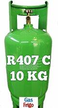 GAS R407 C - kg 10 leer 13 Lt im Preis enthalten