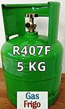 GAS r407 F 5 kg Produkt Netto leer 7 Lt im Preis enthalten - Hinweis: für die Beschaffung von Gasen ist obligatorisch patentino oder Erklärung von Kauf für Wiederverkauf