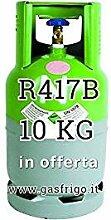 GAS r417b 10 kg Produkt Netto leer 13 Lt im Preis enthalten