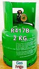 GAS r417b 2 kg Produkt Netto leer 3 Lt im Preis enthalten - Hinweis: für die Beschaffung von Gasen ist obligatorisch patentino oder Erklärung von Kauf für Wiederverkauf
